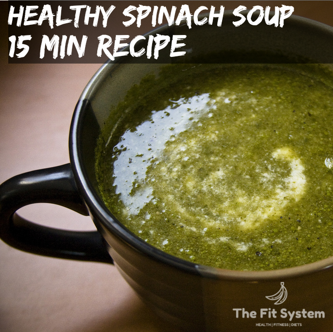 healthy spinach soup recipe