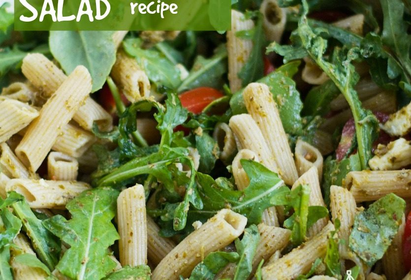 Cold Pasta Pesto Salad