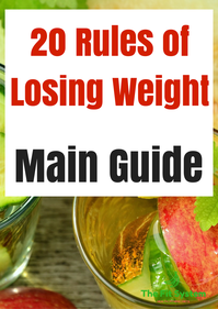 20 rules of losing weight