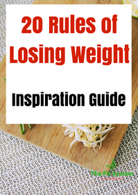 the 20 rules of losing weight by the fit system