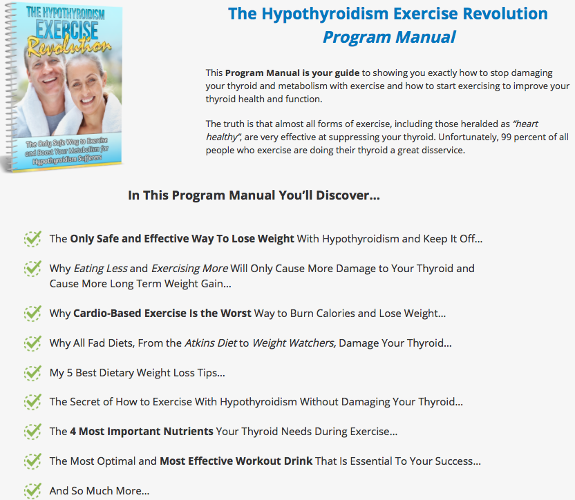Facts of the Hypothyroidism Exercise Revolution Review
