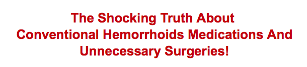 this is the best hemorrhoid no more review article