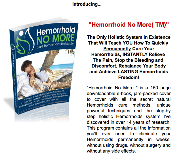 the best hemorrhoid no more system