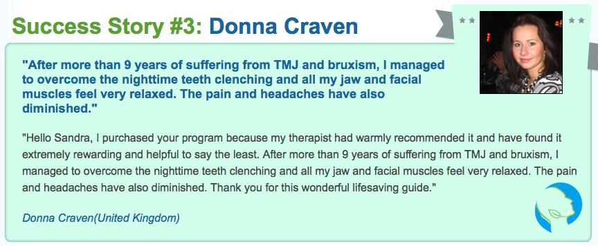 testimonial Best TMJ No More Review