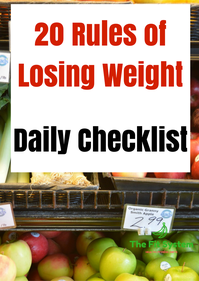 the 20 rules of losing weight  the fit system  how to